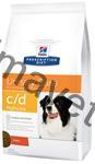 Hill's Canine C/D Dry Multicare 12 kg