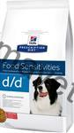 Hill's Canine D/D Dry - Salmon+Rice 12 kg