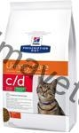 Hill's Feline C/D Urinary Stress Reduced Calorie 1,5 kg