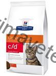 Hill's Feline C/D Dry Urinary Stress 4 kg