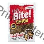 Brit Care DOG Let´s Bite Dinos NOVÝ 150 g