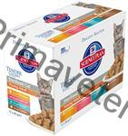 Hill's Feline Young Adult Sterilised Chicken+Fish+Trout+Turkey 12 ks