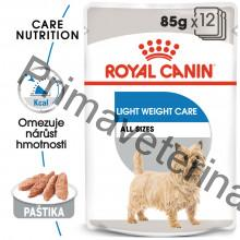 Royal canin Light Weight Care Dog Loaf dietní kapsička 12 x 85 g