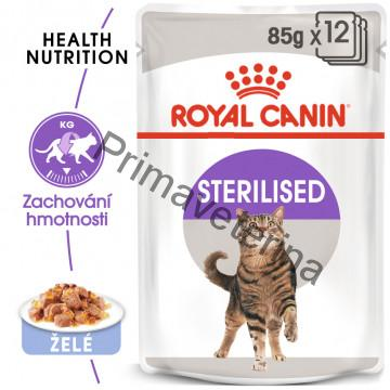 Royal Canin Feline kaps. Sterilized Jelly 12 x 85 g