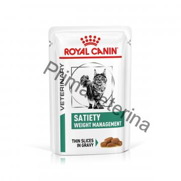 Royal Canin VD Cat Satiety Pouch 12 x 85g