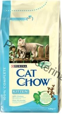 Purina Cat Chow Kitten kuře 1,5 kg