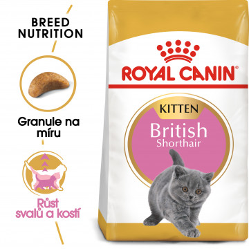 Royal Canin Feline BREED Kitten Br. Shorthair 2 kg