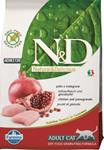N&D Grain Free Cat Adult Chicken & Pomegranate 10 kg