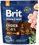 Brit Premium by Nature Dog Adult M 3 kg