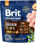 Brit Premium by Nature Dog Junior M 15 kg