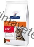 Hill's Feline C/D Dry Urinary Stress 0,4 kg