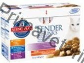 Hill's Feline Adult kaps.CH+Fish+Beef -Multipack 12 x 85 g