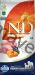 N&D Grain Free Dog Adult M/L Pumpkin Lamb & Blueb. 12 kg