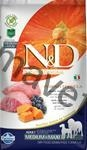 N&D Grain Free Dog Adult M/L Pumpkin Lamb & Blueb. 2,5 kg