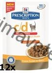 Hill's Feline C/D kaps. Chicken Urinary Stress 12 x 85 g