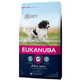 Eukanuba Adult Medium Breed 3 kg