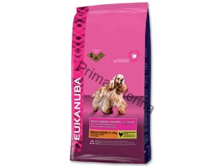 Eukanuba Adult  Medium Light 15 kg
