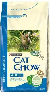 Purina Cat Chow Adult tuňák losos 1,5 kg