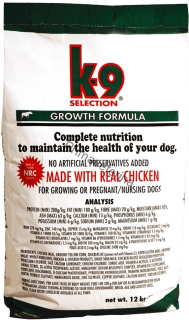 K-9 Selection Growth 12 kg